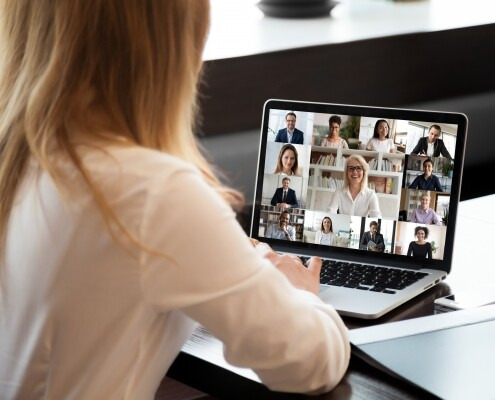 Virtual company and remote team