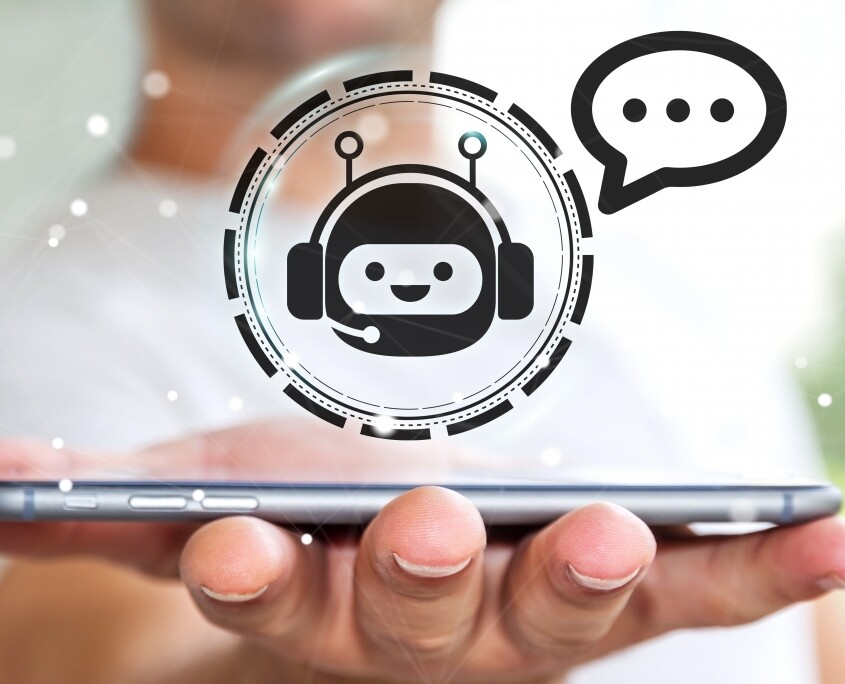 software services chat bot